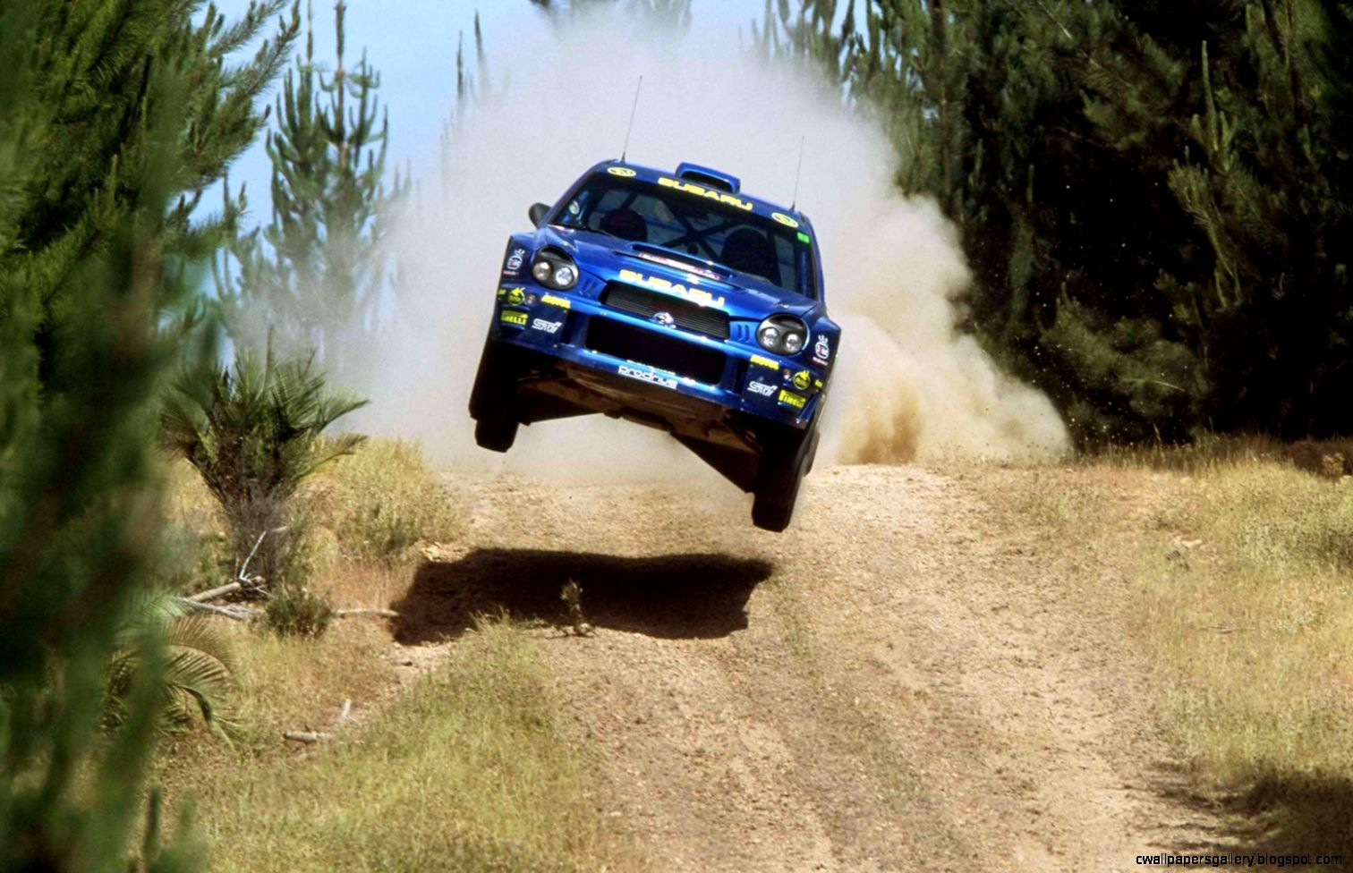 Ken Block Rally Car Jump Amazing Wallpapers