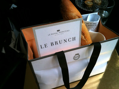 Le brunch du Royal monceau