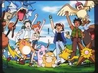 Ash y sus amigos en accion