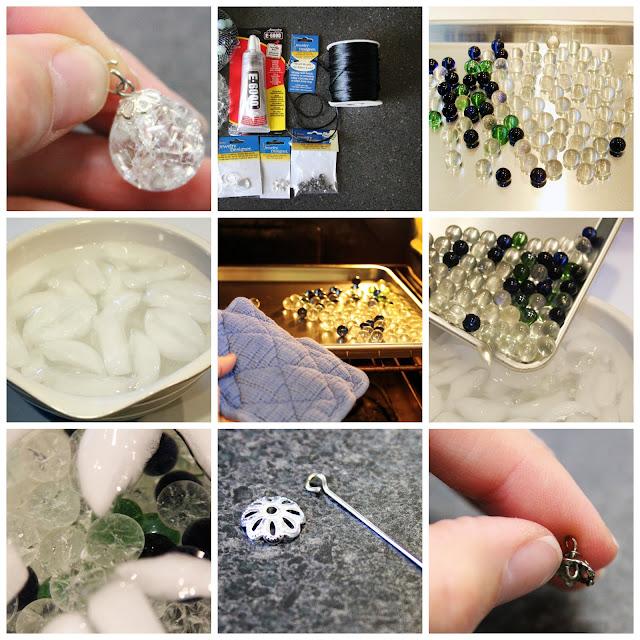 Como hacer bolas de marmol con canicas enrhedando - Reciclar marmol ...