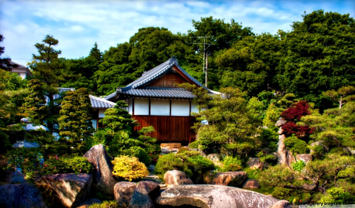 Japanese Garden HD desktop wallpaper  High Definition