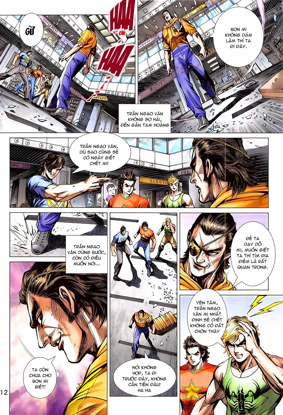 Tân Tác Long Hổ Môn chap 783 Trang 12 - Mangak.info