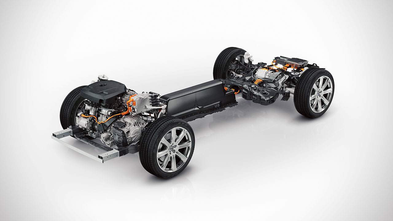 Volvo XC90 T8 SUV powertrain