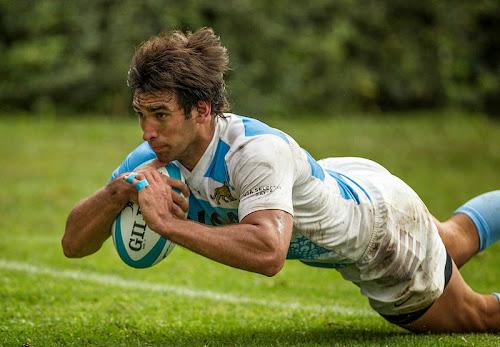 Formación de Argentina XV ante Uruguay