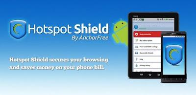 للحماية والتصفح الامن يصل الى اندرويد HotSpot Shield 2013 تطبيق