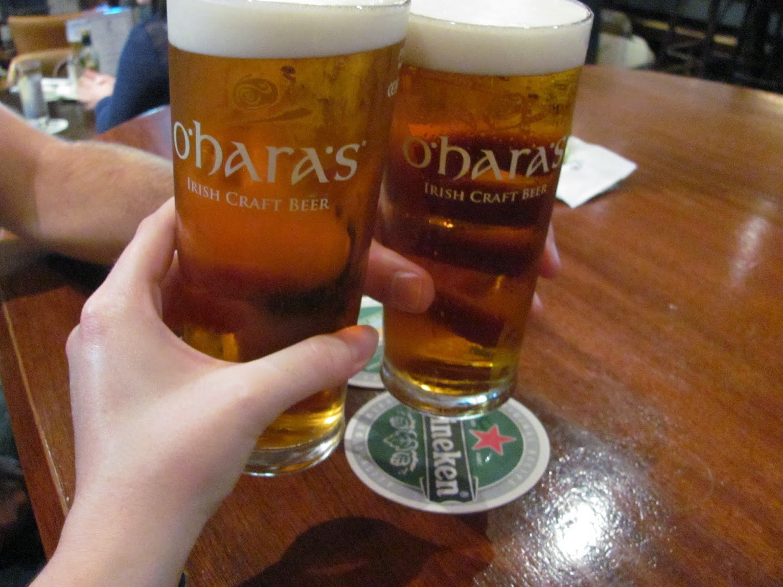 O'Hara's Pale Ale at The Goat Pub Dublin