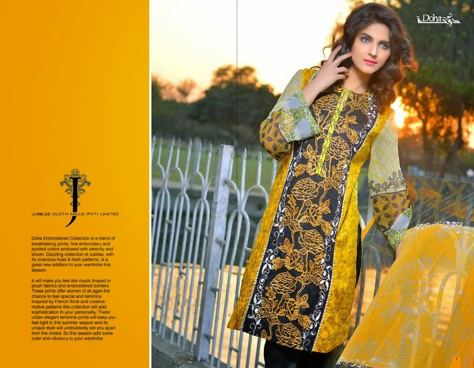 Jubilee latest kurti collection
