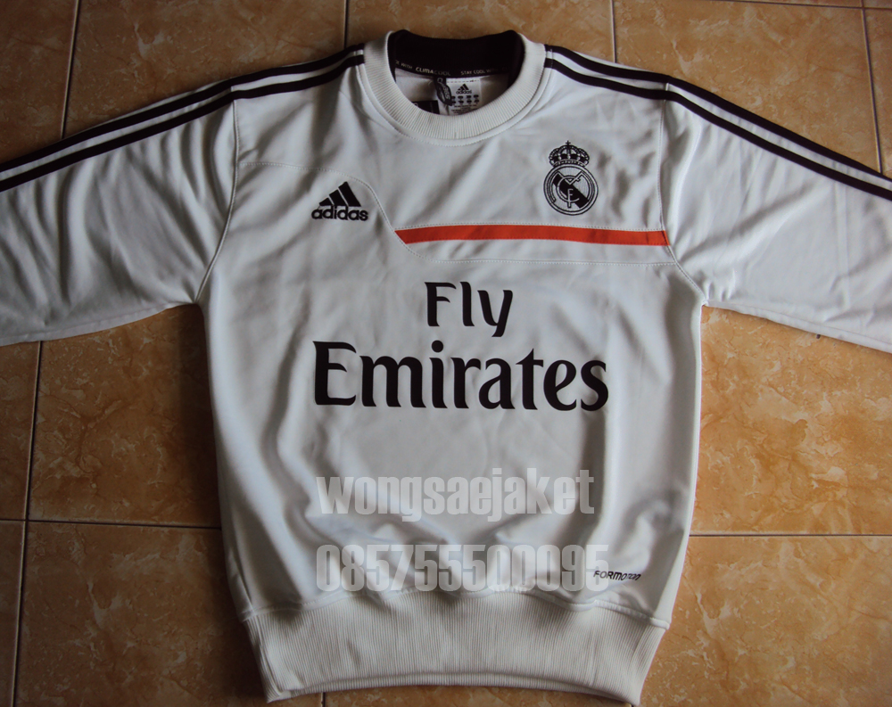real madrid pullover