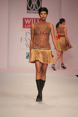 Rehane at Wills Lifestyle India Fashion Week - Autumn Winter 2012 Day 5
