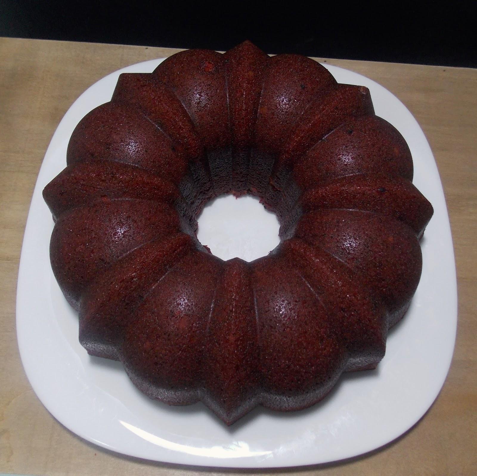 Cocinando para la felicidad bundt cake de red velvet y oreo - Tarta red velvet alma obregon ...