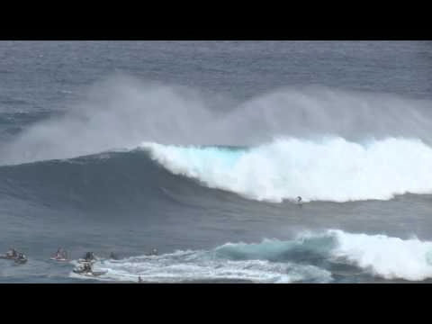 Jaws Maui Paddle in Session January 4 2012