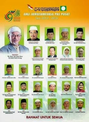 Barisan Kepimpinan PAS 2013