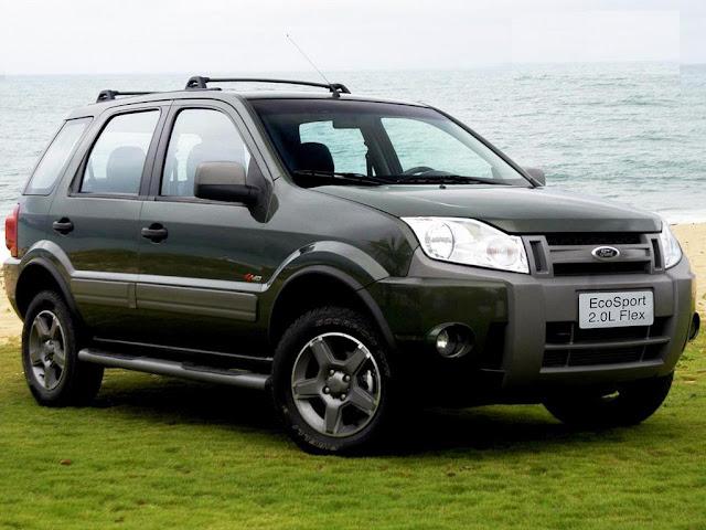 Ford EcoSport 2012 - tabela de preços