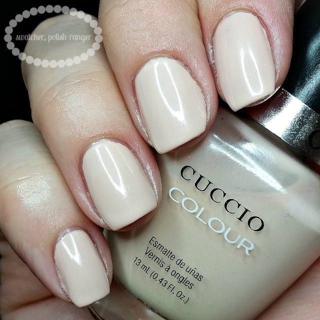 swatcher, polish-ranger | Cuccio Colour Skin to Skin swatch