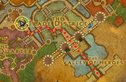 Location to the Stormwind Stockade instance