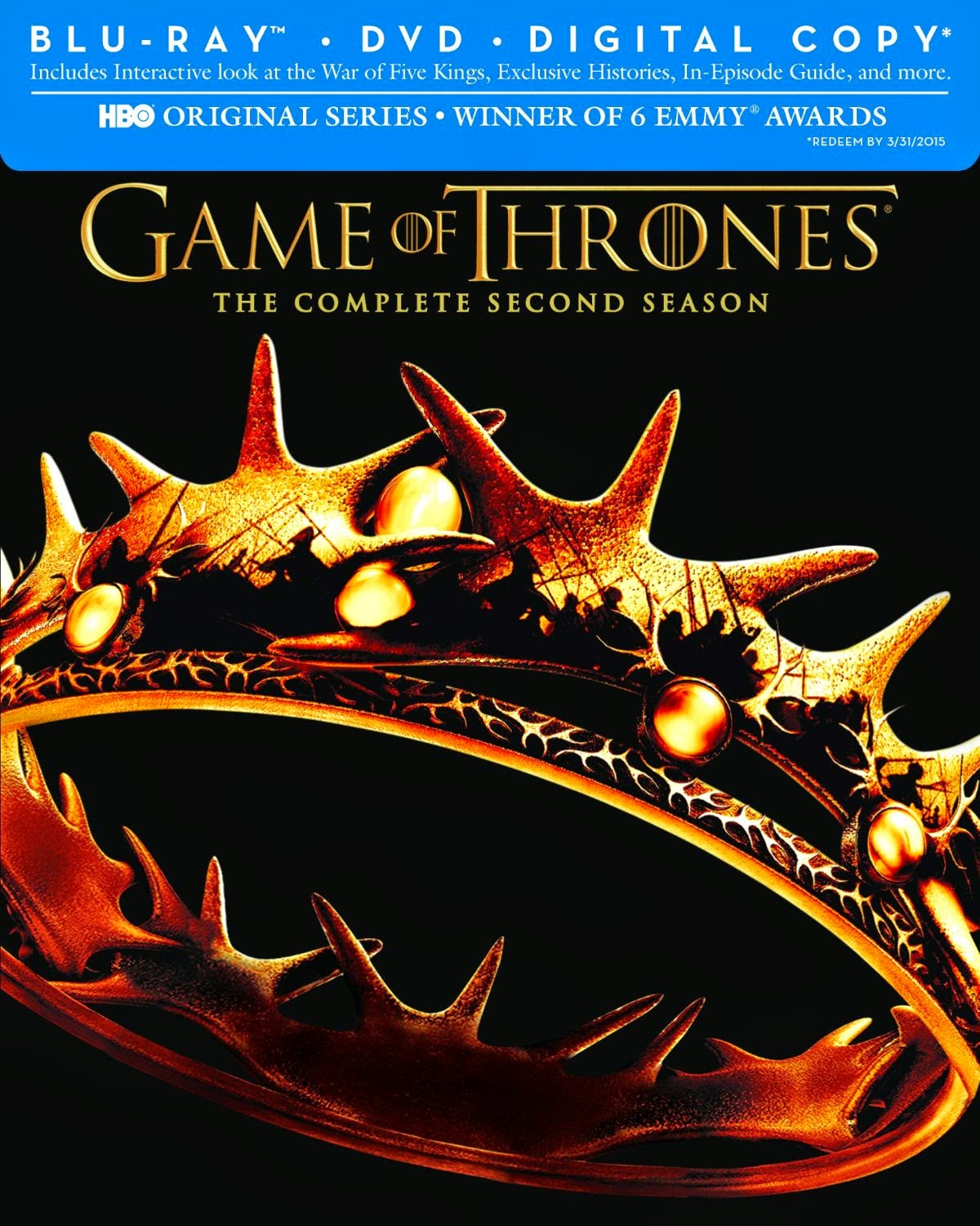Game of Thrones Complete Second Season