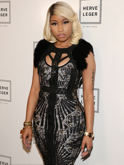 look of the day nicki minaj around the world by diva queen. Black Bedroom Furniture Sets. Home Design Ideas