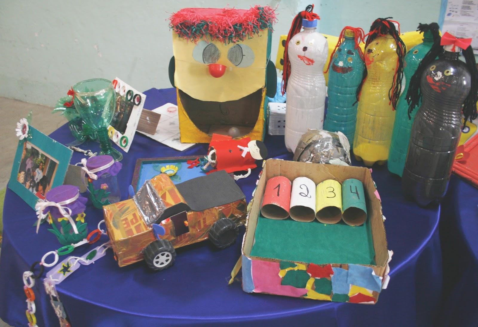 Artesanato Com Argila Simples ~ Escola Jo u00e3o Heráclio Duarte e Amatur realiza Oficina de Reciclagem Limoeiro em Foco