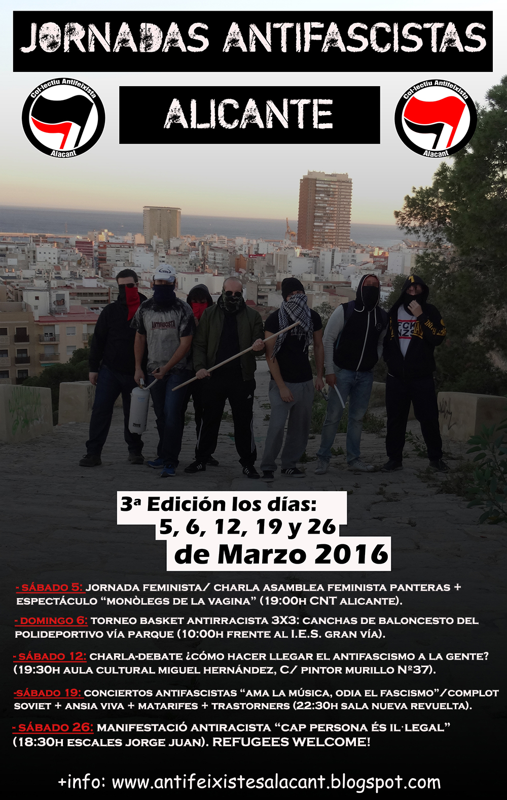Jornadas Antifascistas Alicante 2016