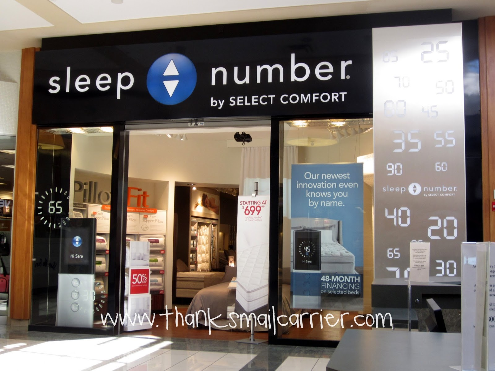 Sleep Number store