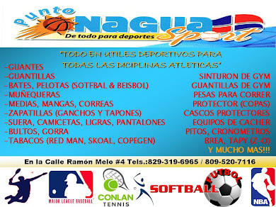 PUNTO NAGUA SPORT TODO EN DEPORTES