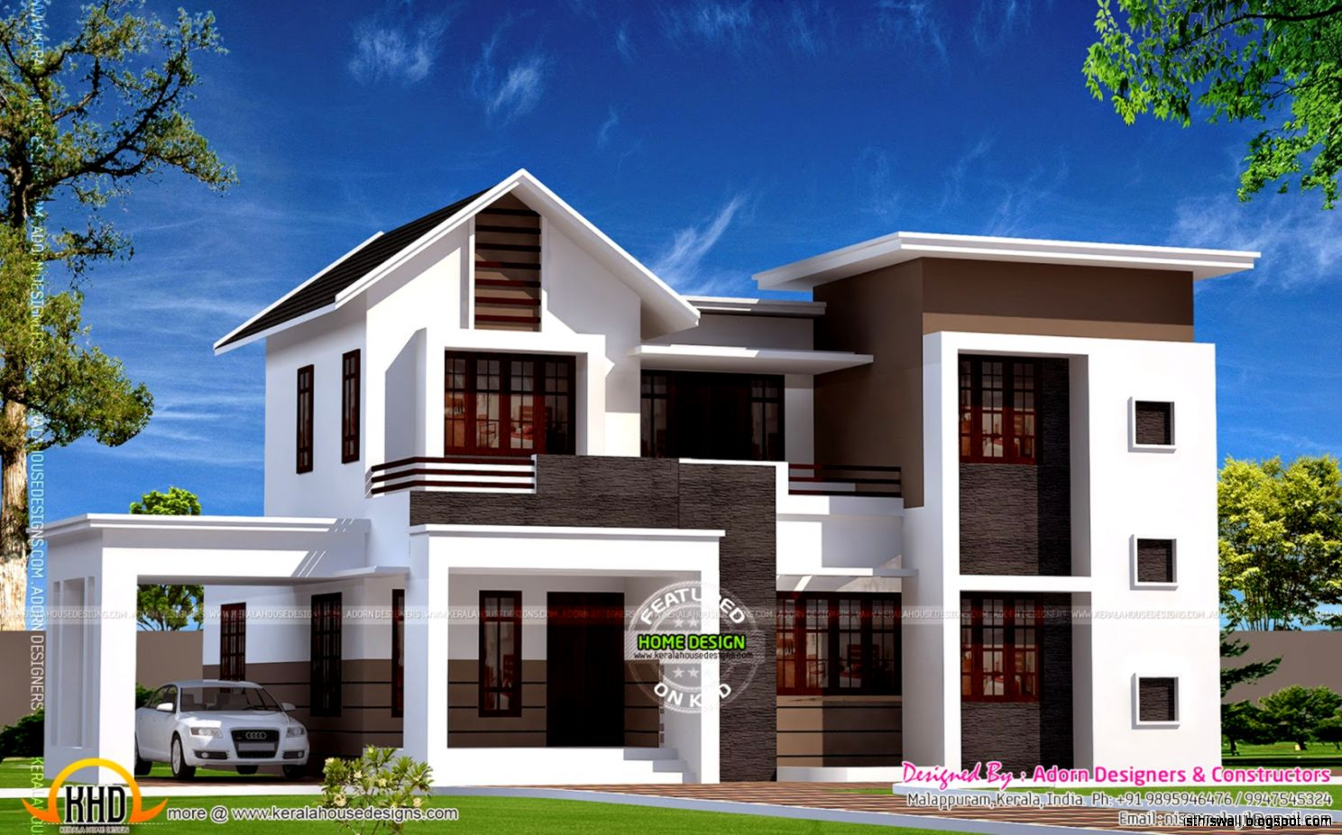 New homes designs photos this wallpapers for Kerala house plans 2014