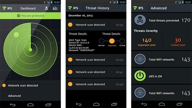 aplicación zips para proteger android