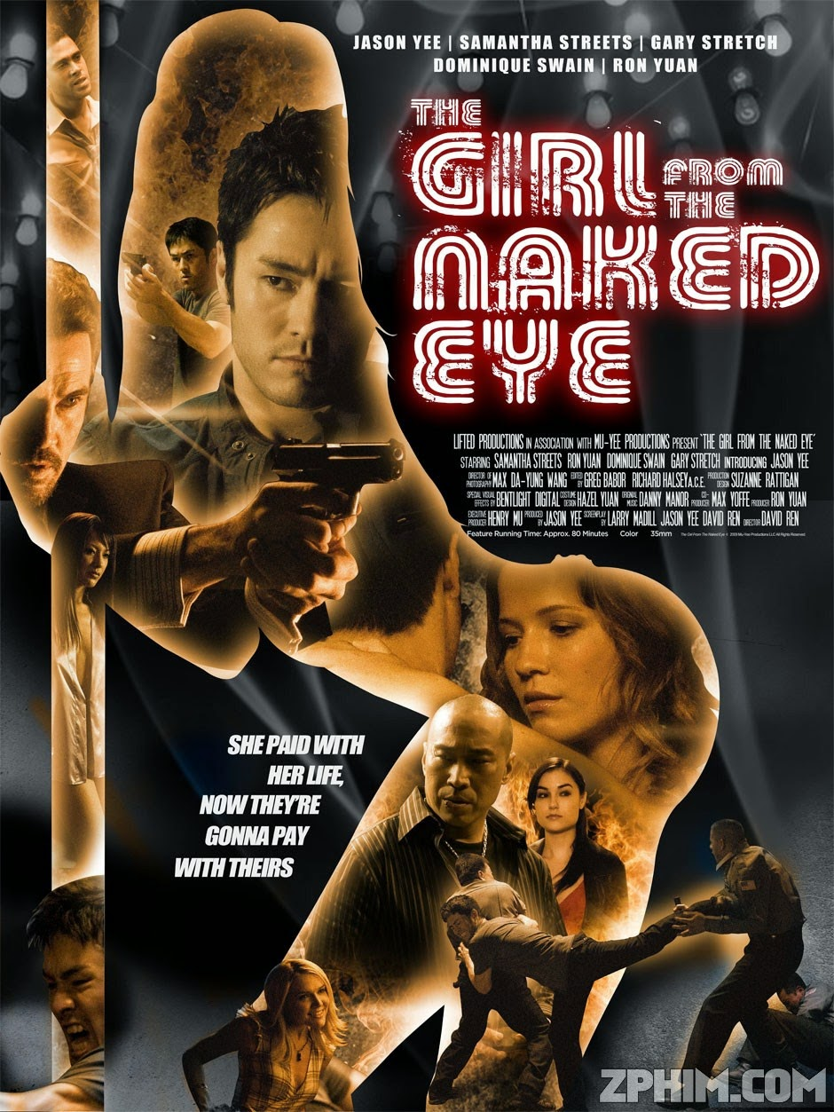 Món Nợ Của Rồng - The Girl From The Naked Eye (2012) Poster