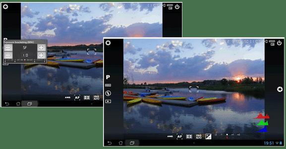 Aplikasi Android kamera