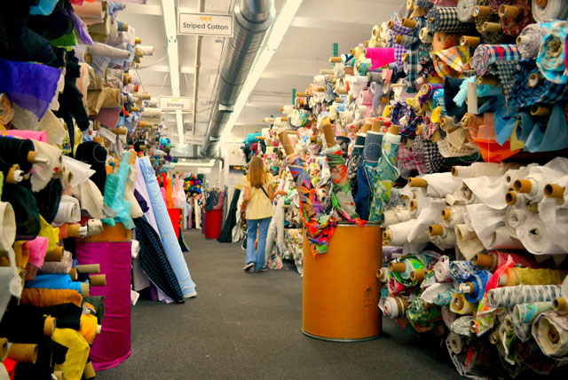 Mood fabrics la mejor tienda de telas - Outlet de telas en madrid ...