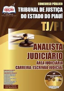 Apostila para cargo Escrivão Judicial