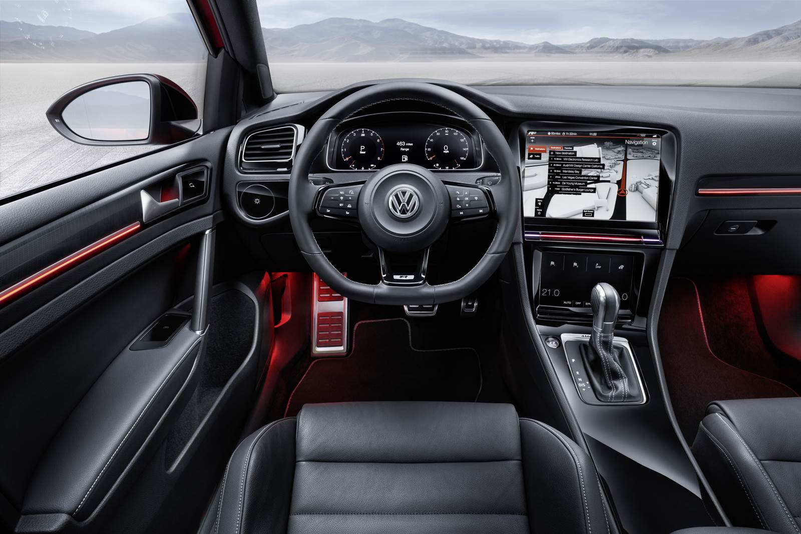 Volkswagen Golf R Touch - interior