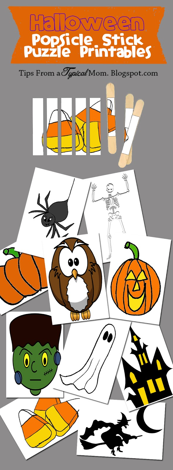 popsicle stick october puzzles free printables tips from a