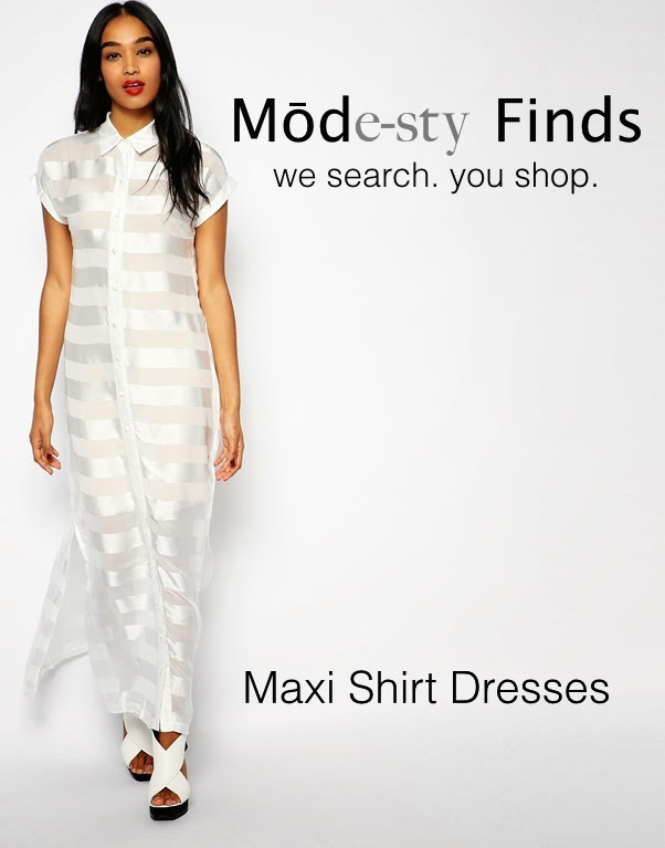 Maxi shirt dress with sleeves | Mode-sty #nolayering tznius tzniut jewish orthodox muslim islamic pentecostal mormon lds evangelical christian apostolic mission clothes Jerusalem trip hijab fashion modest