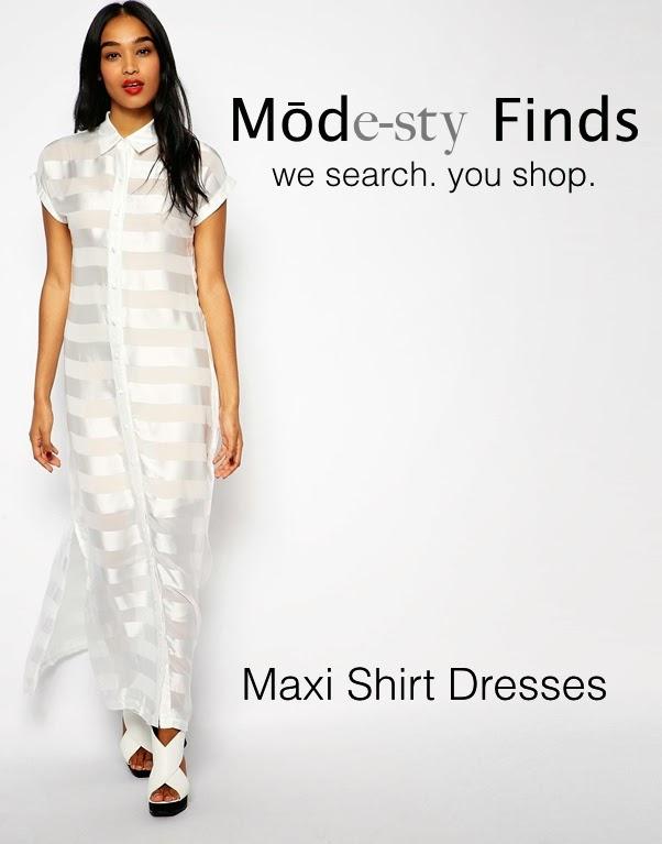 Maxi shirt dress with sleeves | Mode-sty #nolayering tznius tzniut jewish orthodox muslim islamic pentecostal mormon lds evangelical christian apostolic mission clothes Jerusalem trip hijab fashion modest