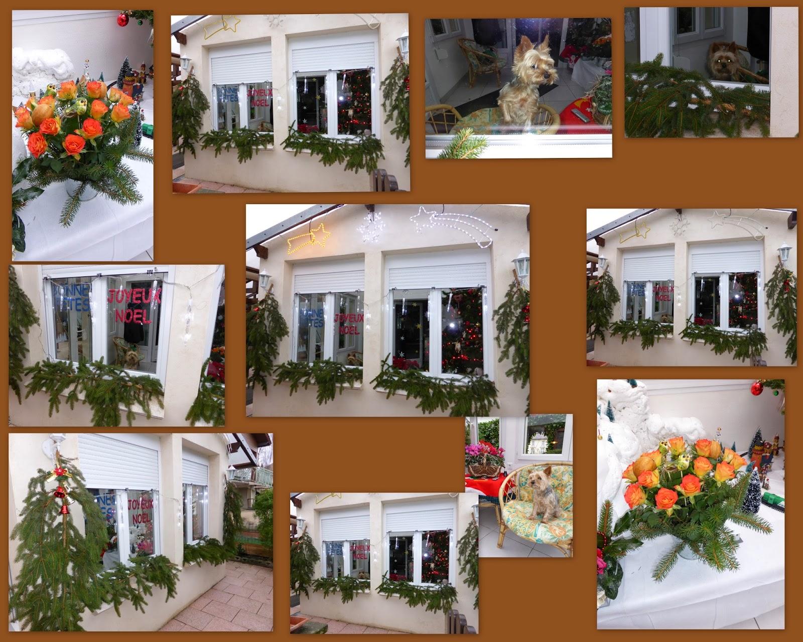 Fait main d cembre 2013 for Decoration fenetre noel ecole