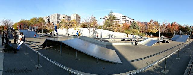 Skatepark 17e paris batignolles