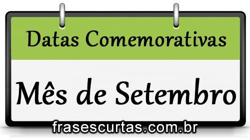 Datas Comemorativas do Mês de Agosto