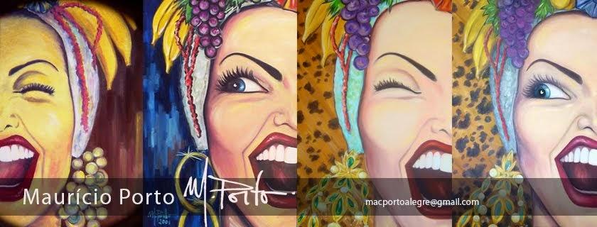 Maurício Porto - artista plástico e publicitário