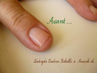 Reconstruction d'ongles naturels - Suite du feuilleton et repousse de la plaque!
