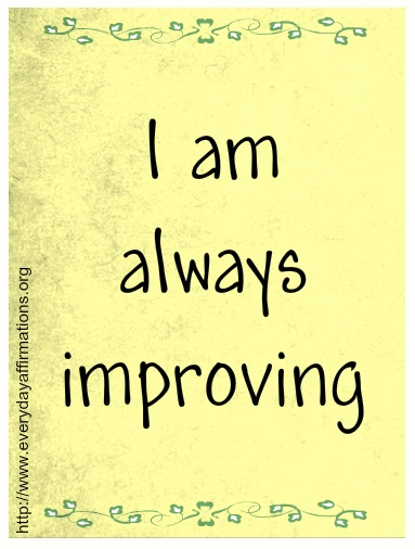 Affirmations for Self Improvement, Daily Affirmations