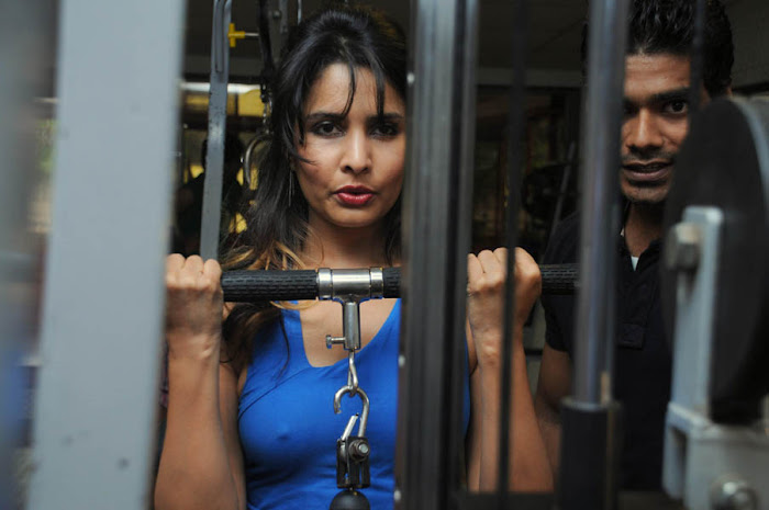 rachana shah's fitness workout photo gallery