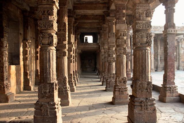 Engraved Pillars, Qutub Minar Complex, Shashank Mittal Photography, Qutub Minar, Shashank Mittal, Photography