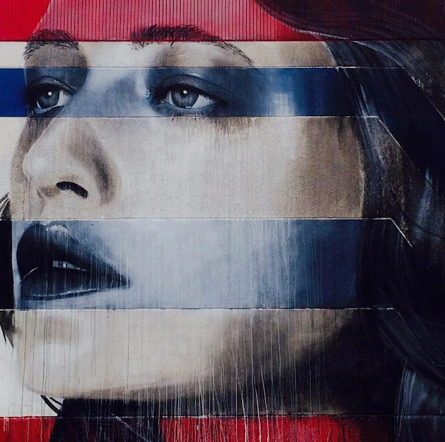 Second Street Art Mural By Rone For Miami Art Basel 2013 In Wynwood. 2