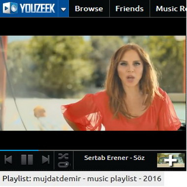youzeek com - mujdatdemir - music playlist - 2016
