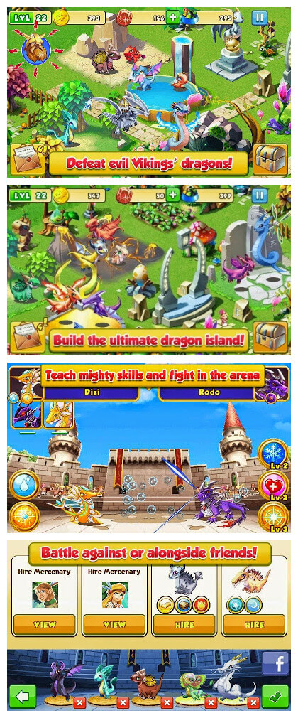 Dragon Mania Mod V4.0.0 Apk Terbaru (Unlimited Coins & Gems)
