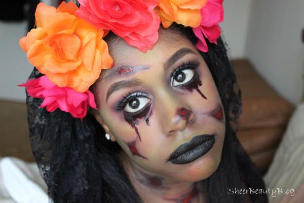 dead bride Halloween zombie