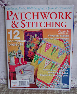 Magazines featuring my craft patterns