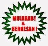 :: MUJARAB, BERKESAN DAN SELAMAT ::