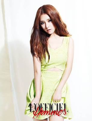 Kim So Eun - L'Officiel Hommes Magazine July Issue 2013